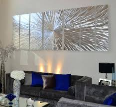 large abstract metal wall art uk