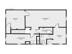 basement design ideas plans. Basement Floor Plan: Flip Flop Stairs And Furnace Room. Design Ideas Plans M