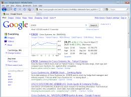 Csco Stock Quote Cool Screenshots HardCoding Bias In Google Algorithmic Search Results