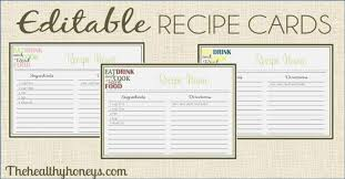 Top Agile Free Printable Recipe Pages Jeettp