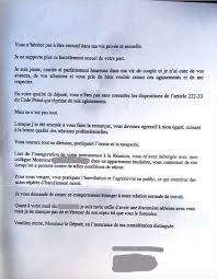 Thierry Robert Son Ex Attachee Parlementaire L Accuse De