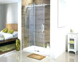 removing sliding glass shower doors tub with sliding glass doors shower door replacement large size of
