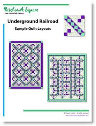 Underground Railroad - Free Quilt Block Pattern & Underground Railroad. Free Quilt Block Pattern Adamdwight.com