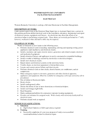 Journeyman Electrician Resume Examples Examples Of Resumes