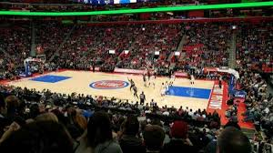 Little Caesars Arena Section 107 Home Of Detroit Pistons