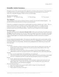 Newspaper Article Summary Template Science Article Summary Templates At Allbusinesstemplates