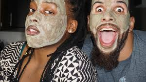 COUPLES FACE MASK THE MOST POWERFUL MASK IN THE WORLD  Batty Batty And Bench