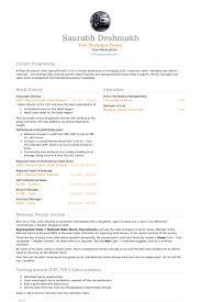 Associate Director Resume samples