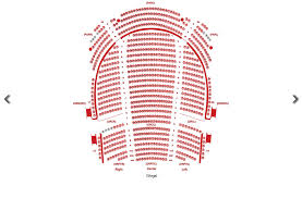 17 Prototypical Bass Performance Hall Seating Map