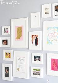 Office wall frames Wall Design Gallery Wall With Ikea Picture Frames Two Twenty One Home Office Gallery Wall decorating Ideas Two Twenty One