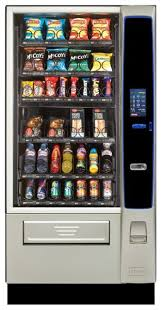Cold Beverage Vending Machine Custom CRANE MERCHANT MEDIA 48 TOUCH Snack Food Cold Drink Vending