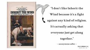 inherit the wind essays papers cheap paper site essay inherit wind  an anonymous voice mail about inherit the wind by jerome law