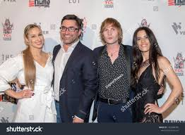 Tatiana Seliverstova, Derek O'Brien, Mickey River, Priscilla Ford attend  2019 Dances with Films Festival Closing N…   Stock photos, Image, Royalty  free stock photos
