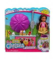 Барби клуб <b>челси</b> игровые наборы тележка с мороженым <b>Mattel</b> ...