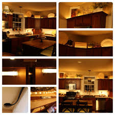 lighting for cabinets. adding lights above and below the cabinets diy christmas are an option for lighting