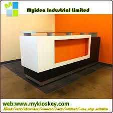 office furniture or hotel reception counter design cheap reception counter