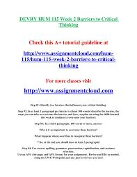 essay on critical thinking barriers crane com pl essay on critical thinking barriers
