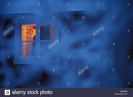 Weihnachtsstern Im Fenster Stockfoto Bild 47262796 Alamy
