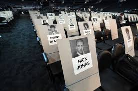 Heres The Grammys Seating Chart And What It Means