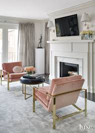 Traditional White Bedroom Sitting Area with Vintage Linen-Velvet ...