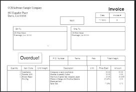 Export Invoice Format In Excel Demaris Business