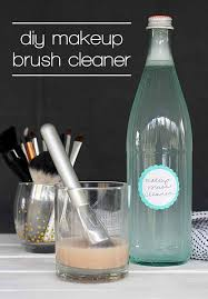 i didn t even know you could make your own makeup brush cleaner definitely