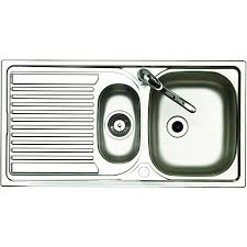 Wickes Urbane 15 Bowl Rhd Kitchen Stainless Steel Sink U0026 Drainer Kitchen Sinks Wickes