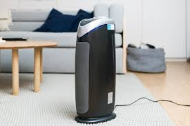 home air purifier. Interesting Purifier The GermGuardian AC482 Air Purifier Sitting In A Grey And White Living Room In Home Air Purifier Wirecutter