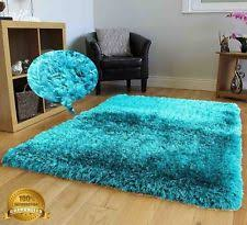 turquoise shag rug. Shag Shaggy 5x7 Turquoise Blue Area Rug Carpet Fluffy Fuzzy Furry Modern Sale T