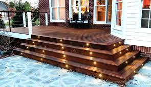 astounding outdoor deck lighting deck outdoor deck lighting led deck lighting outdoor led solar deck post