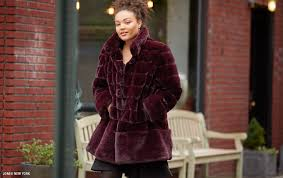 plus size faux fur coat by jones new york at macys com