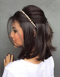 تسريحات شعر قصير لإطلالة جريئة للعروس يوم الزفاف مجلة هي