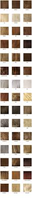 Louis Ferre Hair Color Chart Synthetic Human Hair Sample
