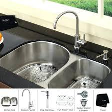 costco kitchen sink faucet combo bronze wide spread single handle