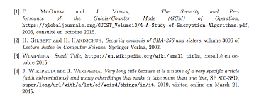 Bibliographies Text Alignment In Bibliography Tex Latex Stack