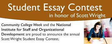 scott wright student essay contest winners nisod 2015 scott wright student essay contest winners
