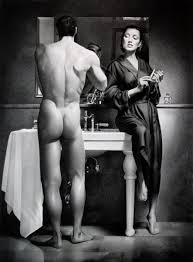 Nude pictures women shaving men