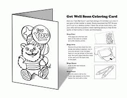 Small Picture Get Well Soon Coloring Pages PdfWellPrintable Coloring Pages