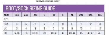 Scubapro Rock Boots Size Chart 59 Curious Scubapro Rock Boots Size Chart