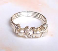 tutorial wire eternity style ring diy step by step with photos