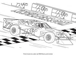 Coloring Coloring Race Car Pages Complete Page Quickly Cars