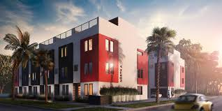 exterior office. Architectural Exterior Rendering In 3ds Max With Black And Red Accents.  Accents Exterior Office
