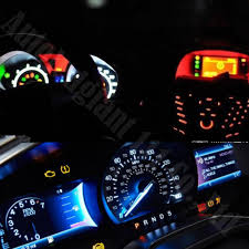 Acura Tl Dash Lights 25pieces 7 Colors Dashboard 12v T5 Wedge Led Light 73 74 286
