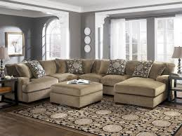 Living Room With Sectional Sofa Furniture Wide Sectional Couches Oversized Sectional Sofas