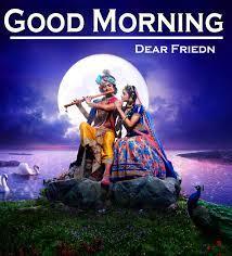 Radha Krishna Good Morning Images HD ...