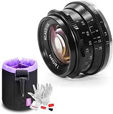 7artisans 35mm F1.2 Large Aperture Prime APS-C ... - Amazon.com