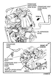1990 ford mustang where is the pvc valve