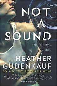 not a sound a thriller park row book cover