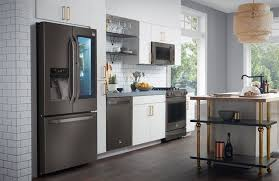 black stainless steel appliances reviews. Contemporary Stainless Kitchen With Black Stainless Appliances To Black Stainless Steel Appliances Reviews Consumer Reports