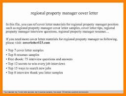 10 Property Management Cover Letters Letter Signature